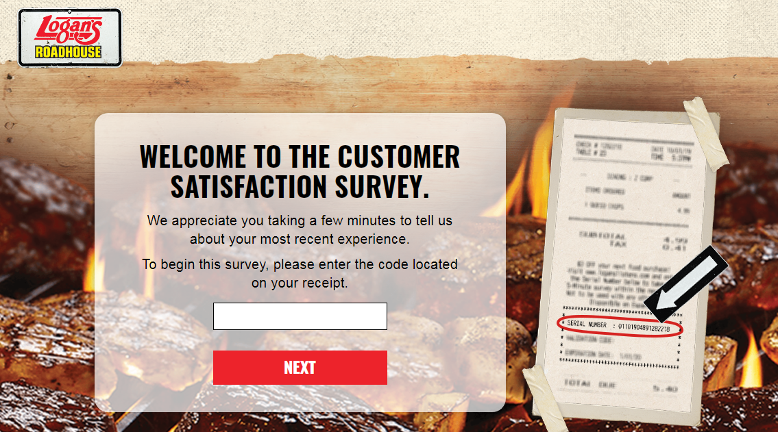 Logan's Roadhouse Customer Feedback  Survey