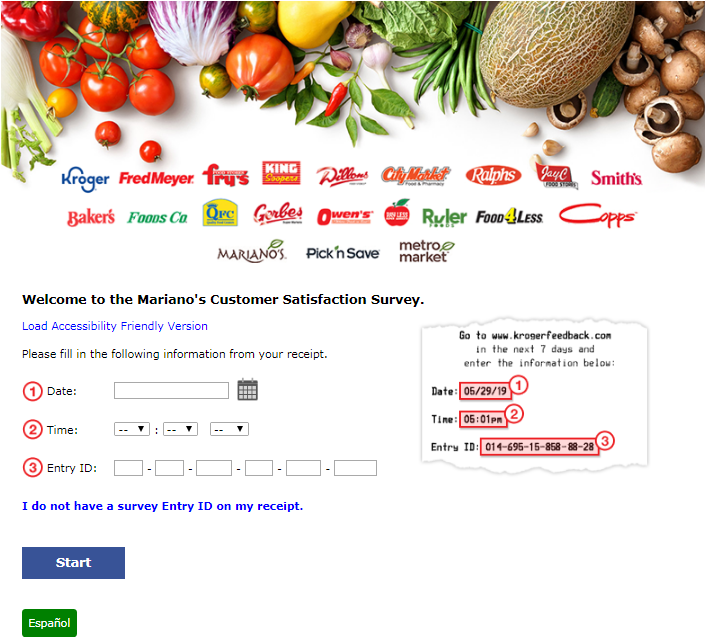 Mariano's Guest Experience Survey