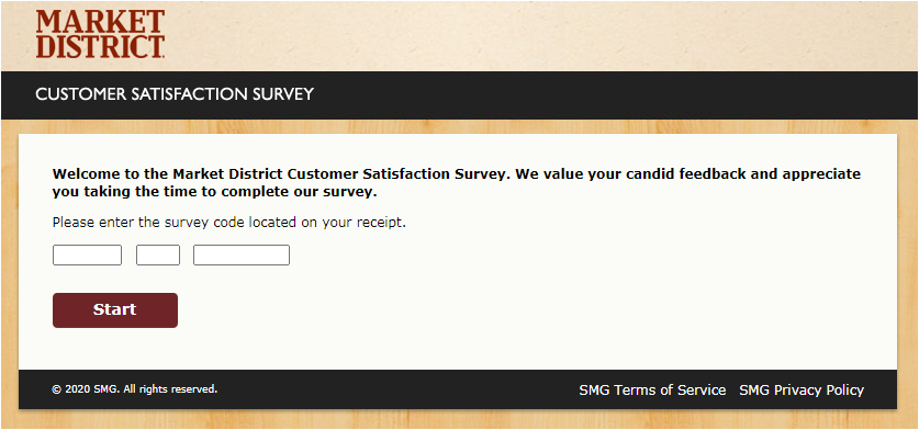 Market District Listens Survey Sweepstakes